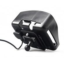 Gps головная повязка для малышей, Детские аксессуары Держатель колыбели подходит только для Fodsports 4,3 дюймов водонепроницаемый мотоцикл gps навигация