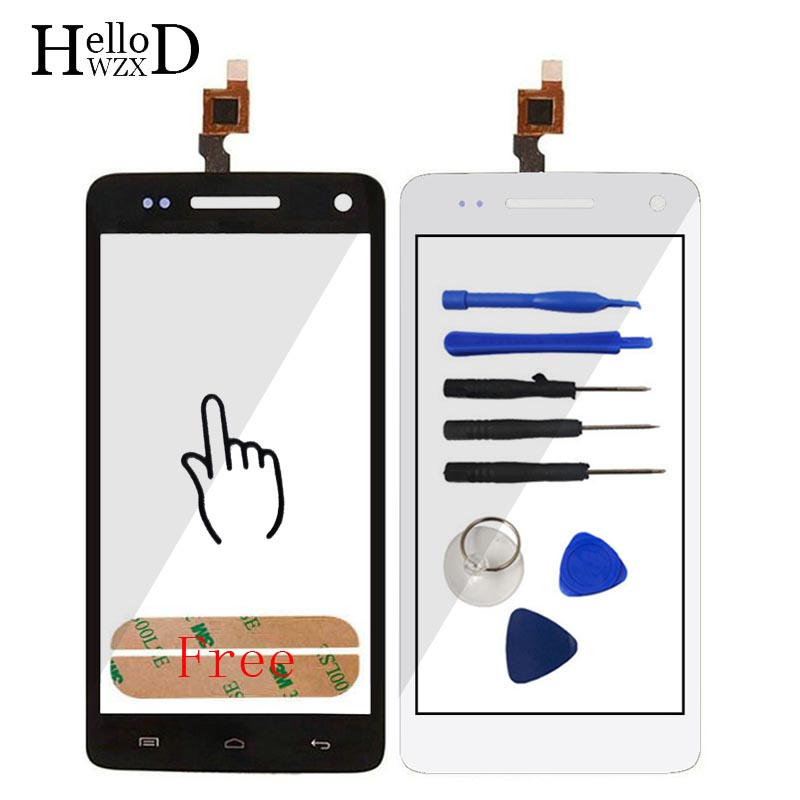 5'' Touch Screen Panel For Explay Fresh Touch Screen Digitizer Panel Front Glass Lens Sensor Flex Cable Tools Adhesive