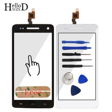 5 Touch Screen Panel For Explay Fresh Touch Screen Digitizer Panel Front Glass Lens Sensor Flex Cable Tools Adhesive