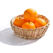1 шт. поддельные фрукты прекрасный искусственный реалистичный муляжи фруктов дисплей креативный милый оранжевый домашний декор обучение фотографии реквизит