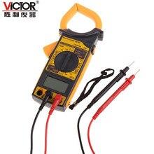 Victor DM6266 AC/DC Clamp Multímetro Pinza Digital Electrónico Del Probador