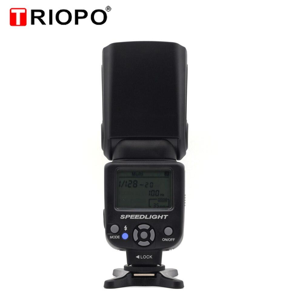 Triopo TR-950 Flash Light Speedlite Universel Pour Fujifilm Olympus Nikon Canon 650D 550D 450D 1100D 60D 7D 5D DSLR Caméras