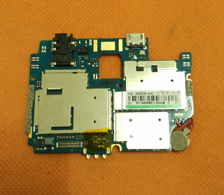 Used Original mainboard 1G RAM+8G ROM Motherboard for HOMTOM HT17 MTK6737 Quad Core 5.5 HD 1280x720 Free Shipping
