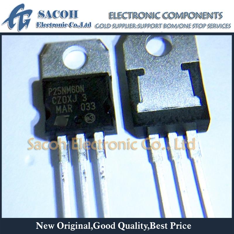 MOSFET 10pcs 25A TO-220 STP25NM60N 600v-Power