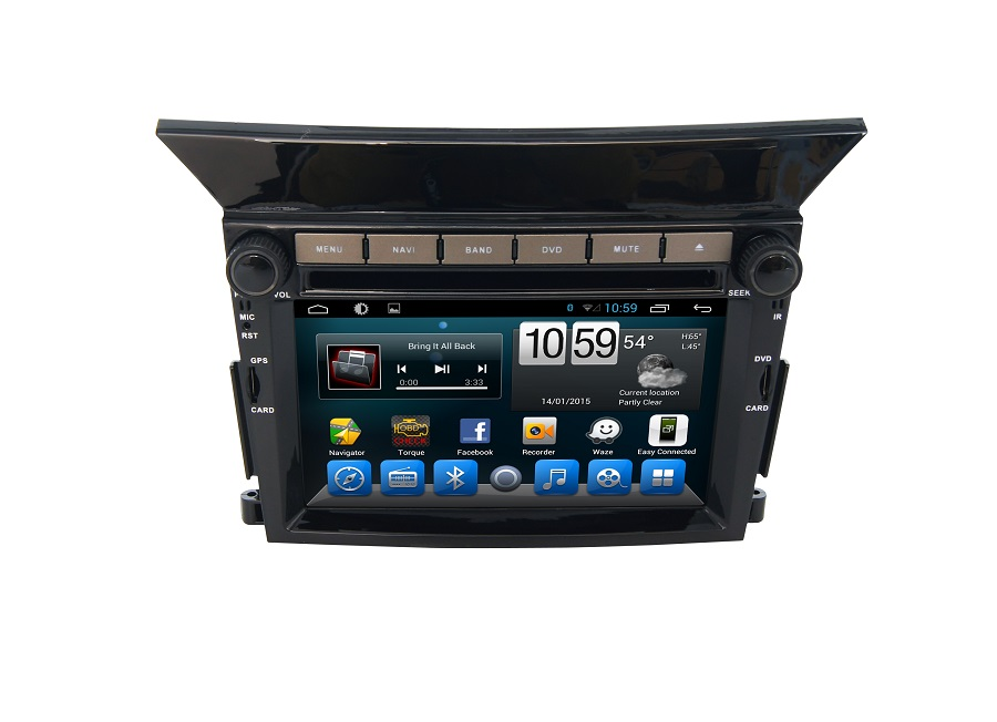 Navirider car dvd player <font><b>for</b></font> <font><b>Honda</b></font> <font><b>Pilot</b></font> octa core android 8.1.0 car <font><b>gps</b></font> multimedia head unit stereo tape recorder image