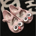 Mini Sed 2016 new style kids girls Belt Shoes rain shoes owl ornament  rubber cute sandal 626ac7007df0