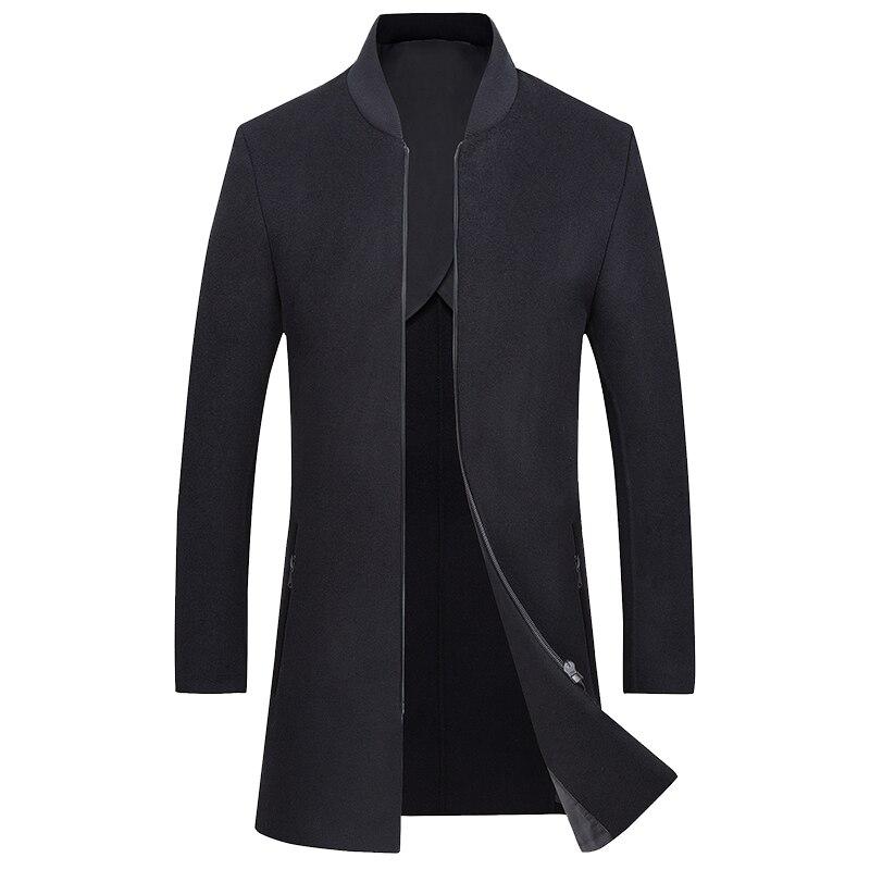 2018 Herbst Winter Handgemachte Woolen Mantel, Lange Reine Wolle Mantel, Doppel Konfrontiert Männer Mantel Der Mn1188-p60 Gut FüR Antipyretika Und Hals-Schnuller