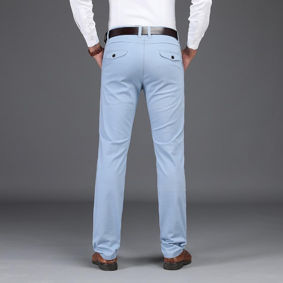 HTB1ujtvXfOzK1Rjt jDq6zJwpXat NIGRITY 2019 Men Pants Casual High Quality Classics Fashion Male Trousers Business Formal Full Length Mens Pants