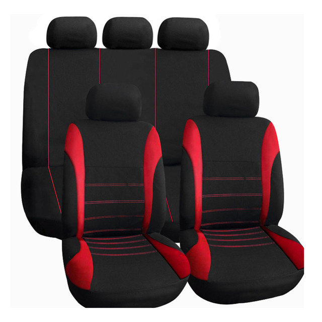 chair headrest cover folding and table 9pcs universal full set car seat auto front rear back protector covers automobiles