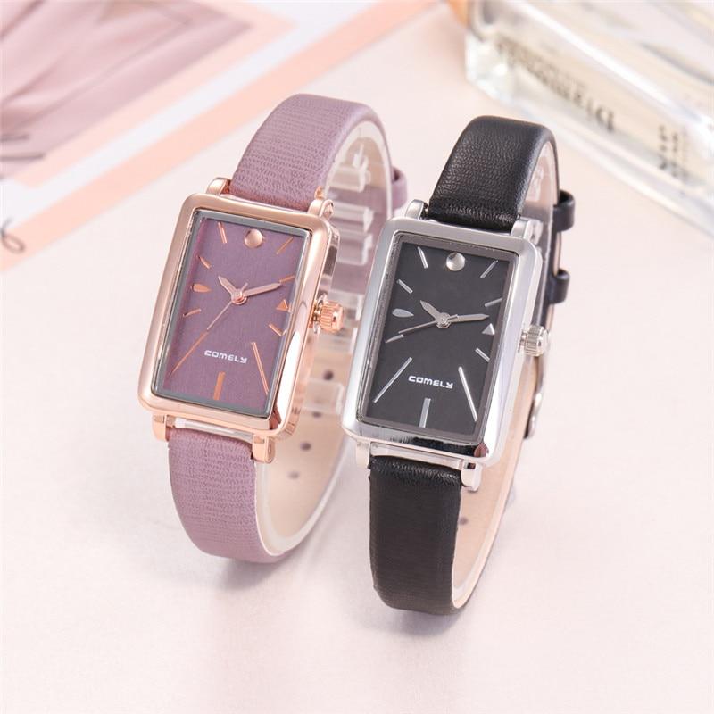 Brand New Luxury Woman Watch Fashion Japanese Movement Stainless Steel Watch Ladies Rectangular Belt Quartz Watch Dames Horloges