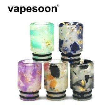 10pcs VapeSoon E Cigarette noctilucous 510 Drip Tips resin Drip tip E for RDA RBA vaporizer drip tip 510