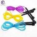 3 M saltar la cuerda profesional colorido ajustable cuerda de saltar Sport fitness equipment luz CrossFit Corda de pular barato