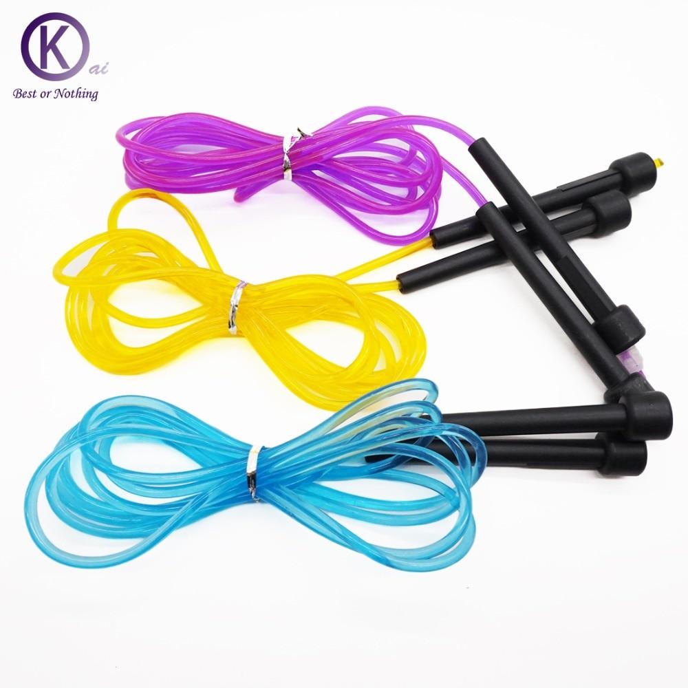 3 m cuerda de Salto profesional colorida ajustable Cuerda de Salto - Fitness y culturismo