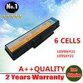 Wholesalelaptop para LENOVO Ideapad B450 B450A B450L Series L09M6Y21 LO9S6Y21 6 células frete grátis