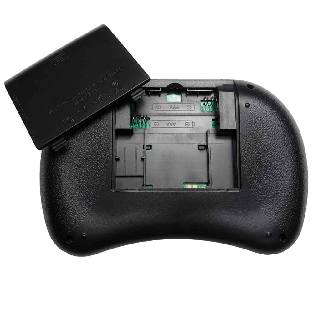 Version originale i8 russe anglais hébreu i8 + 2.4GHz clavier sans fil Air souris Touchpad portable pour Android TV BOX Mini PC