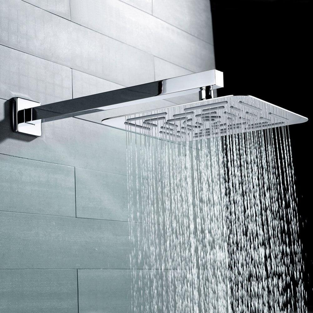 Artbath Free Shipping Bathroom Accessories 400mm Square Solid Brass ...