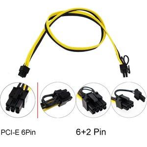 1200 Вт/750 Вт Breakout Board + 12 шт. 6P Male to (6 + 2)8P Male Power Cables комплекты для HP PSU GPU Mining Ethereum
