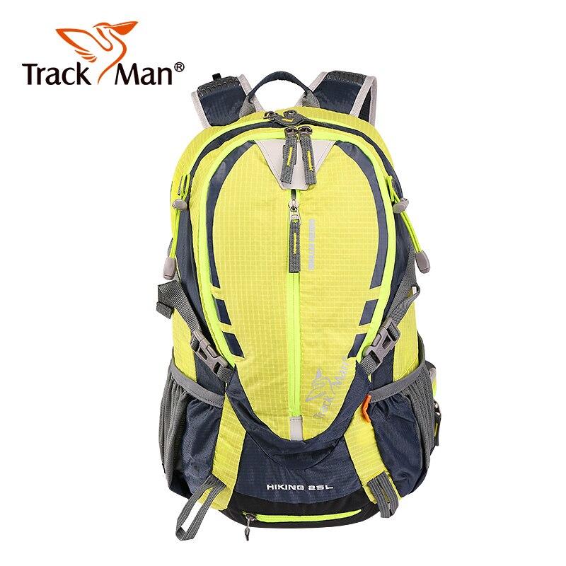 Trackman sac à dos extérieur 25L résistant à l'eau Sport sac à dos Camping voyage Pack escalade randonnée étanche Trekking sac