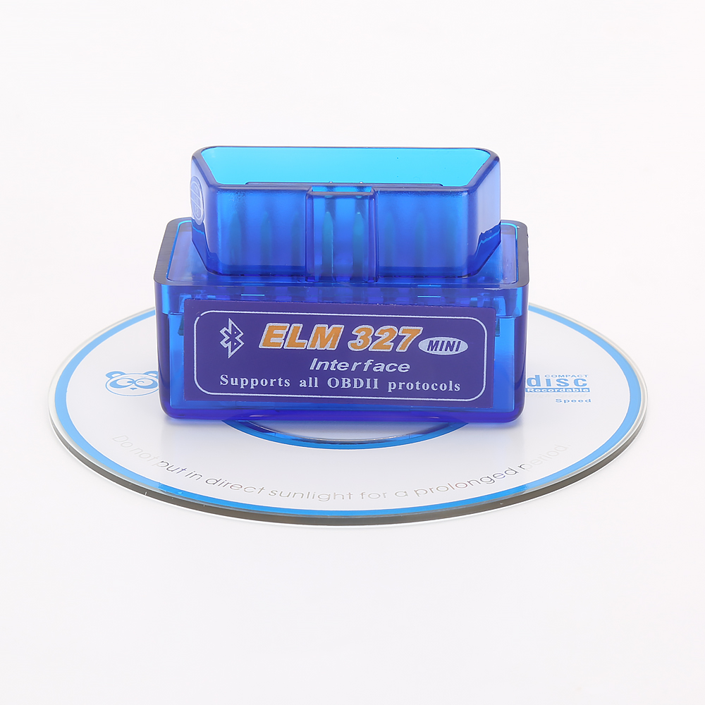 V2.1 V1.5 ELM327 Bluetooth Super MINI ELM 327 Version 2.1 1.5 With Chip OBD2 / OBDII For Android Torque Car Code Scanner
