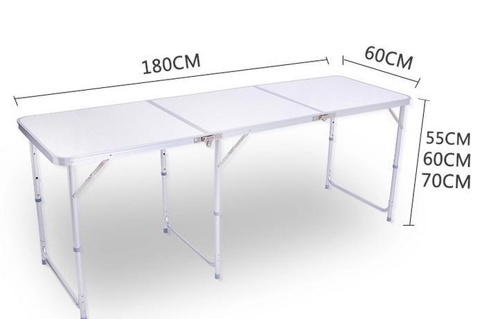 Multifunctionele Indoor Picknicktafel : Aluminium klaptafel multifunctionele aluminium klaptafel draagbare