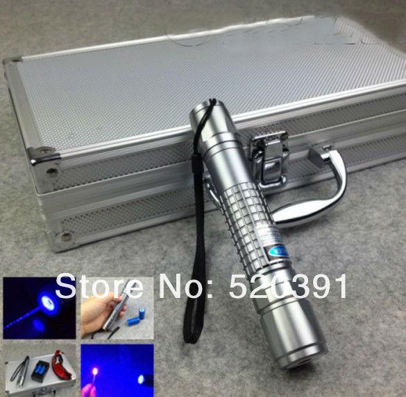 все цены на High Power Blue Laser Pointer 10000mw 10w 450nm Burning Match/Burn Paper/Dry Wood/Candle/Black Plastic/+Glasses+Charger+Gift Box онлайн