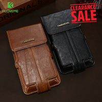 FLOVEME Brand Vintage Phone Cover For IPhone X 8 7 Plus 6 Wallet Case For Huawei