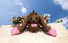NEW Anime Digimon Adventure Terriermon  Long Ears Plush Doll Toy Gift 45cm