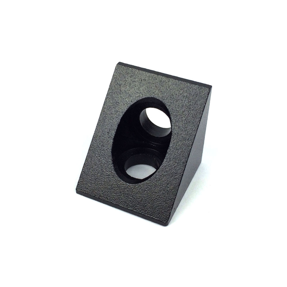 Openbuilds Ooznest OX CNC Parts Black Color 90 Degree Angle Corner - For V Slot Aluminium Extrusion RepRap CNC