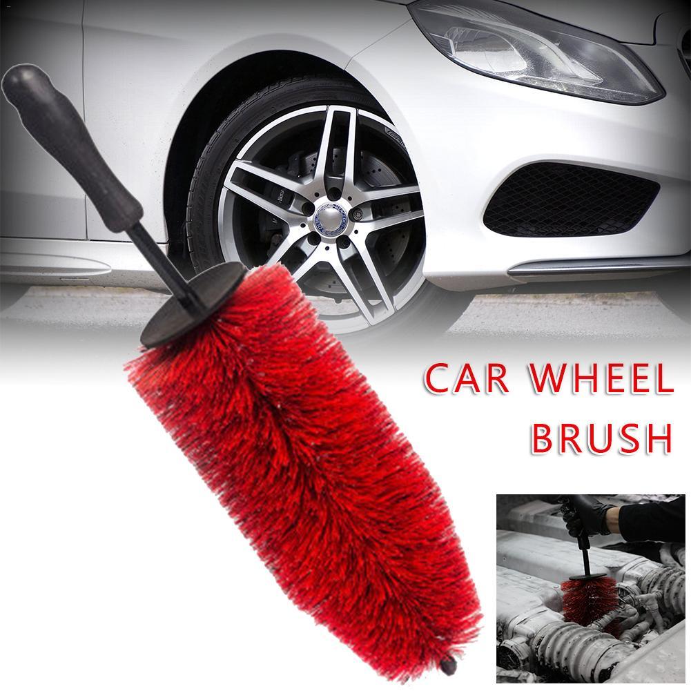 Large Car Rim Wheel Brush Tire Brush Rim Cleaning Brush Engine Master Car Wheel Brush Auto