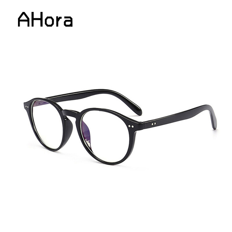 Ahora Retro Oval Frame Reading Glasses For Women&Men Clear Lens Presbyopic Eyeglasses Eyewear With Diopter +1.0to+4.0
