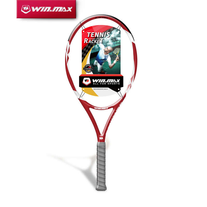 2017 WINMAX 1 Piece Carbon Graphite Tennis Racket Head with a Carrying Bag цена