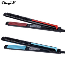 Professional Women Corn Irons Plate for Corrugated Curl Hair Machine Hair Crimper Waver Straightener Irons Fluffy Styling Hair