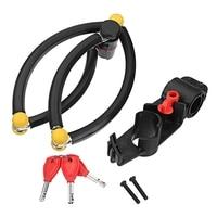 Anti Hydraulic Pressure Folding Motorcycle Lock Anti Burglarproof Waterproof Alloy Steel Lock