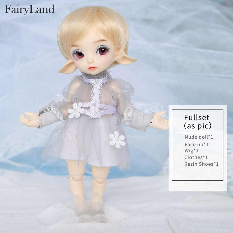 Сказочная земля Realfee Luna 19 см bjd sd кукла 1/7 модель тела высокое качество игрушки магазин shugofey парики мини кукла luodoll