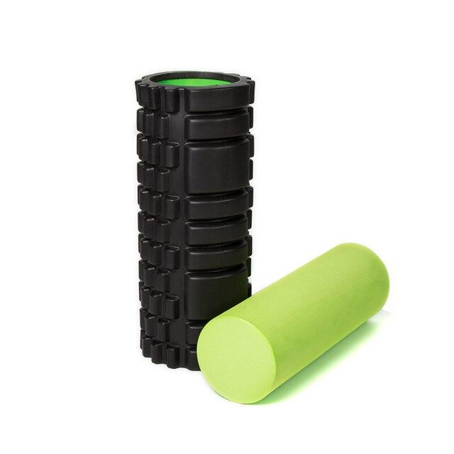 US $29 14 23% OFF|Aliexpress com : Buy 2pcs/set EPP Foam Roll High Fitness  Massage Roller Exercise Balance Yoga Brick Block Gym Equipment Black Sports