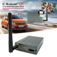 Aluminum alloy Shell Car WiFi Display Mirror Link Box Adapter MiraScreen DLNA Airplay For Android IOS