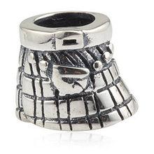 925 Sterling Silver Kilts Charms Fits For Pandora Bracelets Bangles Pendant bracelet Jewelry Silver Beads