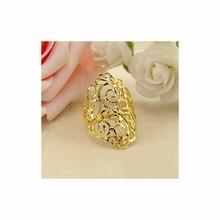 18k rosa anel de ouro 2020 novas mulheres jóias finas oco para fora luz estilo de luxo festa clube presente feminino anel trendydrop grátis