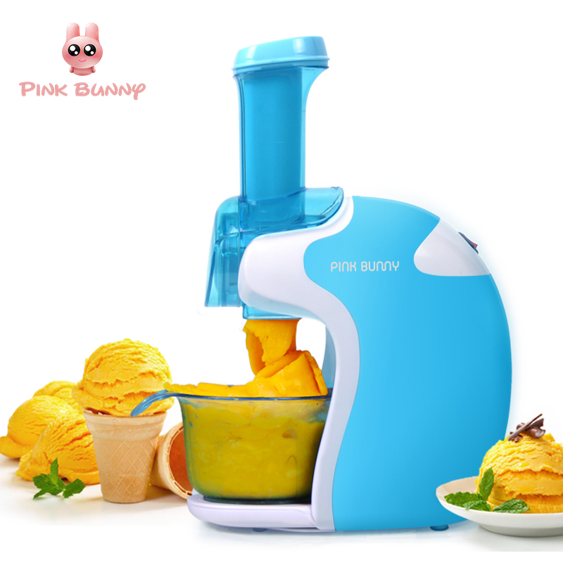 Automatic Fruit Ice Cream Maker Homeuse Mini Electric Icecream Machine For Child DIY Maquina De Sorvete Gifts Yogurt Dessert hot selling electric yogurt machine stainless steel liner mini automatic yogurt maker 1l capacity 220v