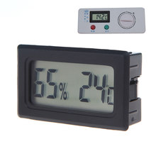 Mini Temperature weather station thermometr Digital LCD Thermometer sensor Hygrometer Humidity tester termometros digitales(China)