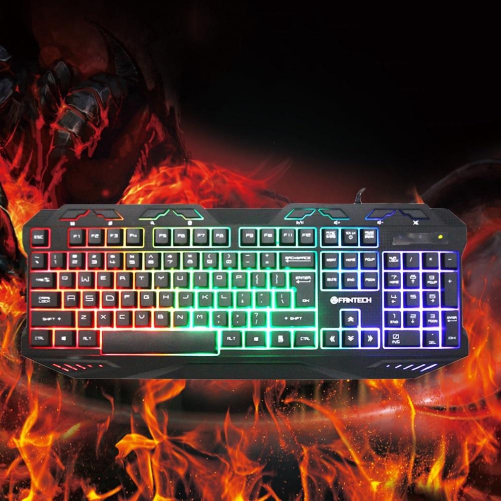 K10 игровой Профессиональный клавиатура Эргономика выключатели Металл Проводной USB игры Клавиатура 112 ключ Plug and Play для про PC Gamer