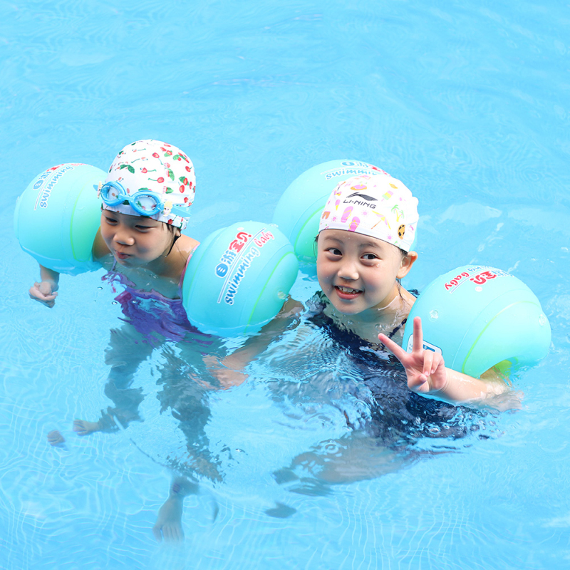 Baby Inflatable Arm Floating Children Sleeves Swim Ring Armlets Swim Circle Tube Ring Trainer Swimming Pool Accessories For Kids