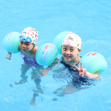 Kids Arm Bands Floating Baby Sleeves Swimming Rings Tube Armlets for Adult Swim Circle Ring Trainer Swimming Pool Accessories 1 pair children arm swimming ring floating sleeves flamingo crab shape swimming rings for kid cute sport summer beach pool swim