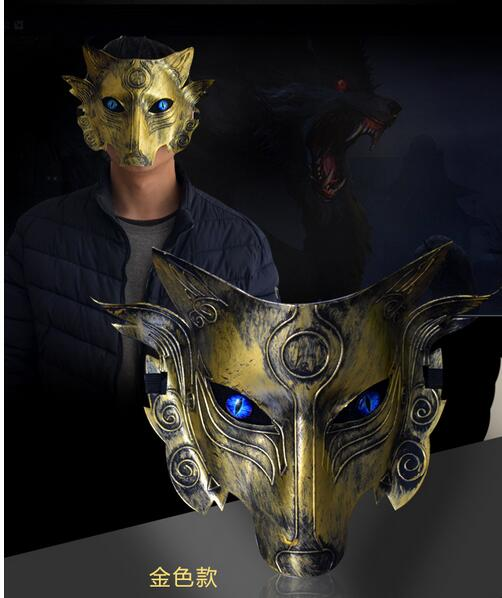 2017 New Halloween Party Movies Game Wolf Mask Animal Full -2298