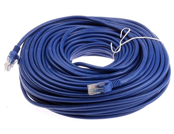 new arrival durable 40m 130ft rj45 for cat5 10m 100m ethernet internet network patch lan cable. Black Bedroom Furniture Sets. Home Design Ideas