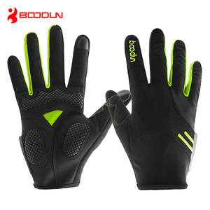 BOODUN Autumn Touch Screen Guantes Ciclismo Women Men Breathable Mountain Bike Cycling Gloves Full Finger Gants Velo Route
