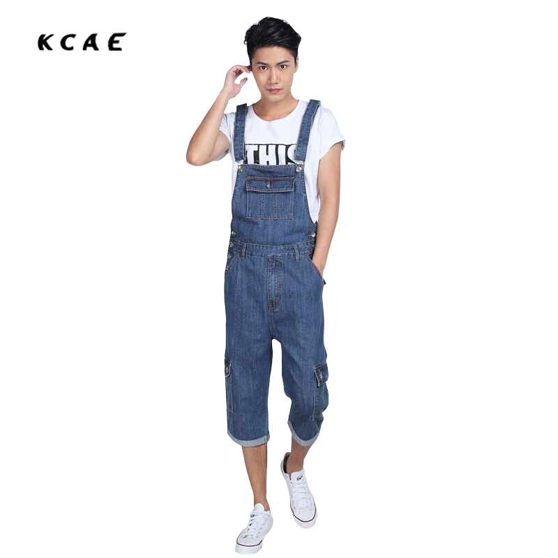 Size S-5XL Denim Overalls for Men Summer Mens Bib Coveralls with Suspenders Casual Jeans Jumpsuit Pockets summer fashion cool men s denim overalls casual man jeans suspenders men jumpsuit bib pants for male plus size 28 46