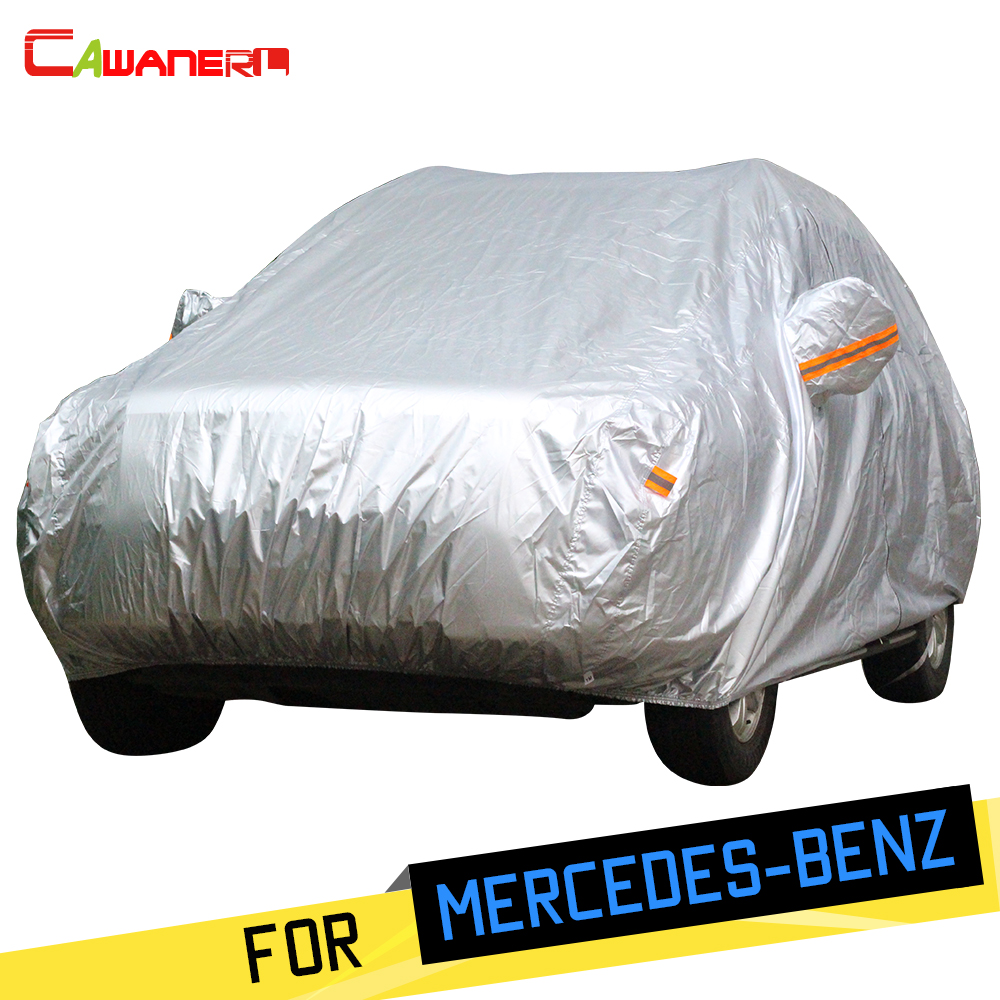 Cawanerl Car Cover SUV Rain Sun Anti UV Snow Protection Cover For Mercedes Benz GLS350D GLS400