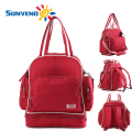 SUNVENO Waterproof High-Capacity Baby Diaper Nappy Bag Mummy Travel Bag Backpack