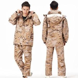 Image 2 - QIAN RAINPROOF Professional Outdoor Raincoat Thicker Heavy Water Gear Hiddenhat Fashionable Sportswear Waterproof Rain Gear